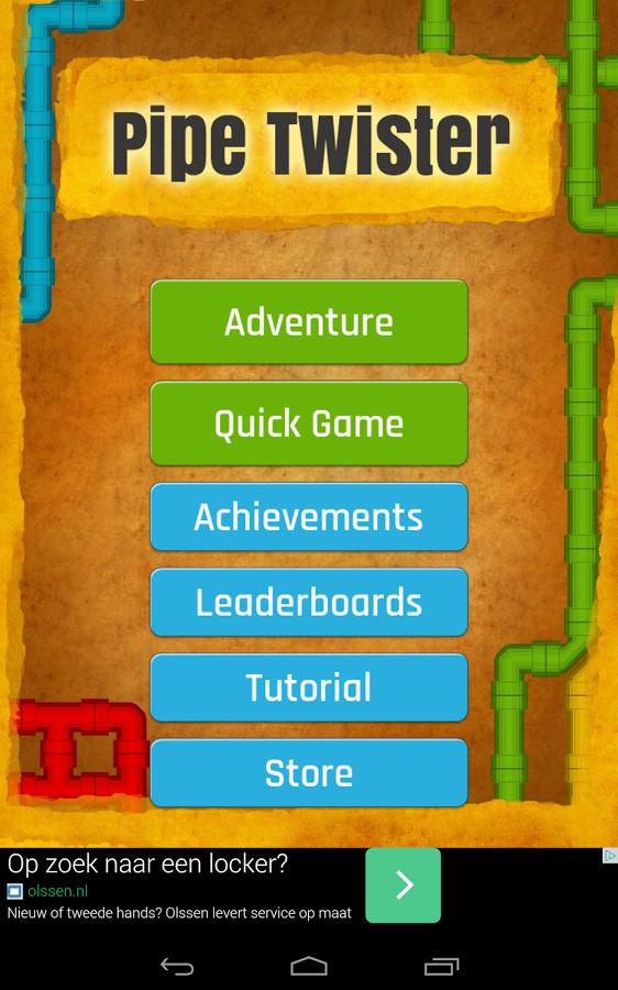 Screenshot von Pipe Twister: Kostenloses Knobelspiel für Querdenker