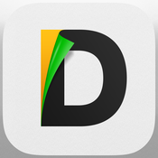 App Icon: Documents by Readdle - Gratis Dateimanagement, Dokumentenansicht, Fotoalbum und Medienwiedergabe 4.4.1