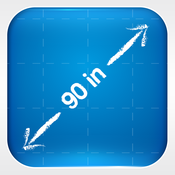 App Icon: Meine Messungen - My Measures & Dimensions - Beste App für Heimwerken 4.10