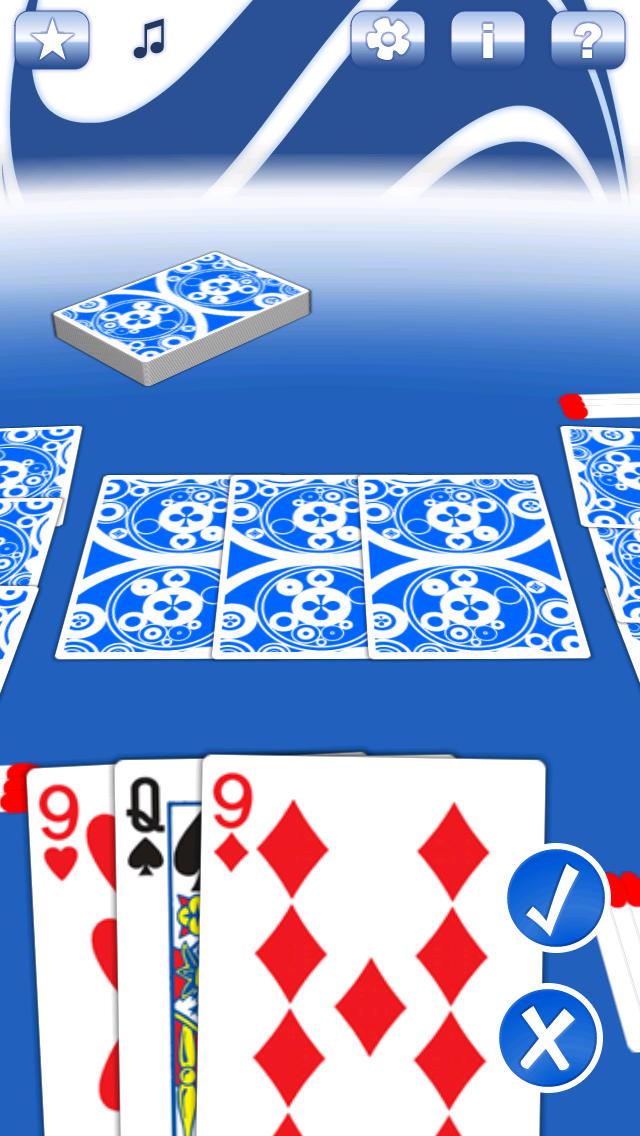 schwimmen karten spiel