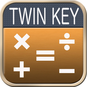 App Icon: Twin Key Calculator 1.1