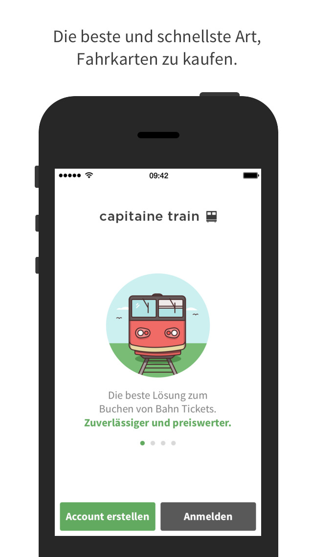 Screenshot von Capitaine Train: Die Zugbuchmaschine iPhone-App