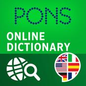 App Icon: PONS Online-Wörterbuch - Der kostenlose Online-Übersetzer für Englisch, Französisch, Spanisch, Russisch, Chinesisch und weitere Sprachen 2.9
