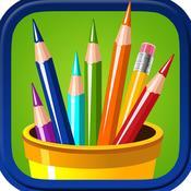App Icon: Ausmalbilder für Kinder - Spaß-Malbuch 3.7