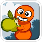 App Icon: Doodle Grub - Twisted Snake