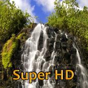 App Icon: Wasserfälle Super HD (für den neuen iPad) - Wallpaper für dem iPad 2.1