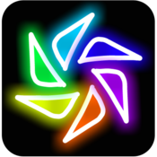 App Icon: Magic Paint Kaleidoscope