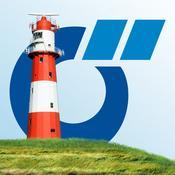 App Icon: Ostfriesland App von Das Örtliche – Entdecke Ostfriesland und die ostfriesischen Inseln mit der kostenlosen Reiseführer App 2.3
