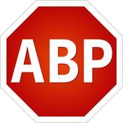 App Icon: Adblock Plus (ABP): Kostenlos Werbung blockieren, Ads entfernen & Datenverbrauch reduzieren 1.1.0