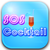 App Icon: SOS Cocktail - Drink Recipes
