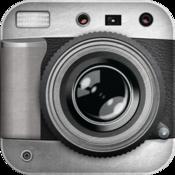 App Icon: Schwarz Weiß Kamera