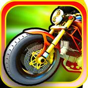 App Icon: Motorradrennen HD Gratis - Eine schnelle Autobahnpolizeimethode (Motorcycle Racing HD Free - A fast speed highway police dodge) 1.0