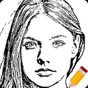 App Icon: Portrait Sketch