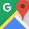 Google Maps- verkehr, öffentlicher verkehr, nahegelegene orte und real time navigation