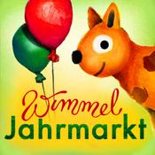 App Icon: Wimmel-App Jahrmarkt – Hochwertiges, handgezeichnetes Wimmelbuch für Kinder 1.0.2