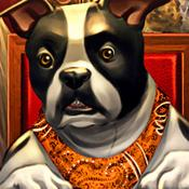 App Icon: Dogs Playing Poker ~ free Texas hold'em game for all skill levels & dog lovers! 1.5.1