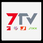 App Icon: 7TV   Mediathek, TV Livestream