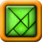 App Icon: TanZen Free - Relaxing tangram puzzles 1.9