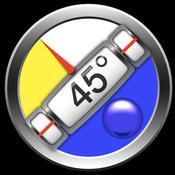 App Icon: Clinometer + Neigungsmesser + Wasserwaage (3 in 1) 4.4