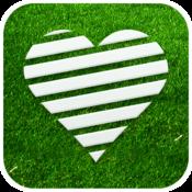 App Icon: Herzrasen Fußball Live Ticker