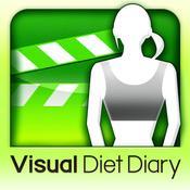 App Icon: Visuelle Diät Tagebuch -Nehmen Sie Ihr Gewicht und Foto- 4.6
