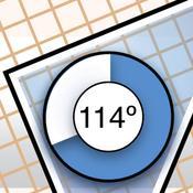App Icon: iGeodreieck - Praktisches Geodreieck 1.5