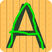 App Icon: Buchstaben eindruecke