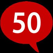 App Icon: 50 Sprachen lernen