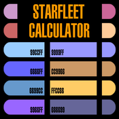 App Icon: Star Trek Starfleet Calculator