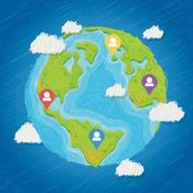App Icon: Wo liegt das? - Geographie Quiz 4.4