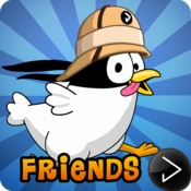 App Icon: Ninja Chicken Adventure Island