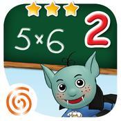 App Icon: Mathe Klasse 2 - Lernerfolg Grundschule - Multiplizieren, Addieren und Rechnen mit Geld für Kinder der Klassenstufe 2 2.4