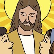 App Icon: Kinderbibel Tägliches Gebet mit Gebete für Ihre Kinder, Christian Familien, Katechismus und Schule 4.2