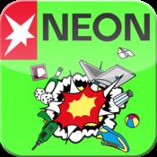 App Icon: NEON Unnützes Wissen