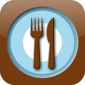 App Icon: iEssen - Restaurantfinder Restaurant Kritik Essen gehen in der Umgebung 1.5