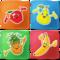 Obst Spiele für Kinder