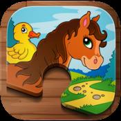 App Icon: Tier Puzzle Kleinkinder Kinder