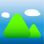 App Icon: GPS Höhenmesser