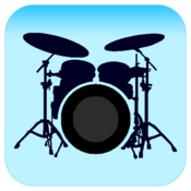 App Icon: Drum set