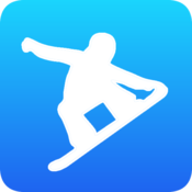 App Icon: Crazy Snowboard