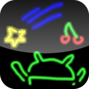 App Icon: Drawing neon