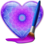 App Icon: KaleidoMagic Draw Art & Design