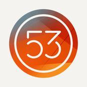 App Icon: Paper: Notizen, Fotokommentare und Skizzen – von FiftyThree 3.5.4