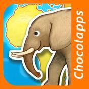 App Icon: Animap - Tiere, ihre Familien, ihre Geräusche, ihre Behausungen und ihre Nahrung 2