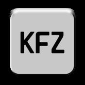 App Icon: Deutsche Kfz-Kennzeichen