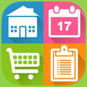 App Icon: Organizer To-Do: Universal Grocery, To-Do & Calendar Manager 3.8