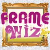 App Icon: Frame Wiz - Greeting cards, postcards, ecards and frames 1.5
