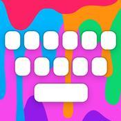 App Icon: Farbige Tastatur | RainbowKey - individuell anpassbare Tastatur mit HD HIntergründen Themes, coolen Schriftarten und spassigen emojis 3.3.1