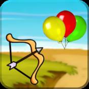 App Icon: Ballon Bogen Pfeil