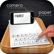 App Icon: Paper Keyboard - Fast typing and playing with an alternative printed projector keypad 3.1.0